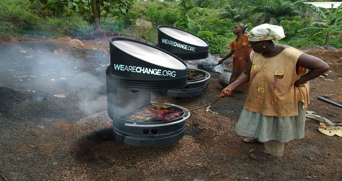 Solar Powered Grill Uses the Sun's Energy for Fire-Free Grilling