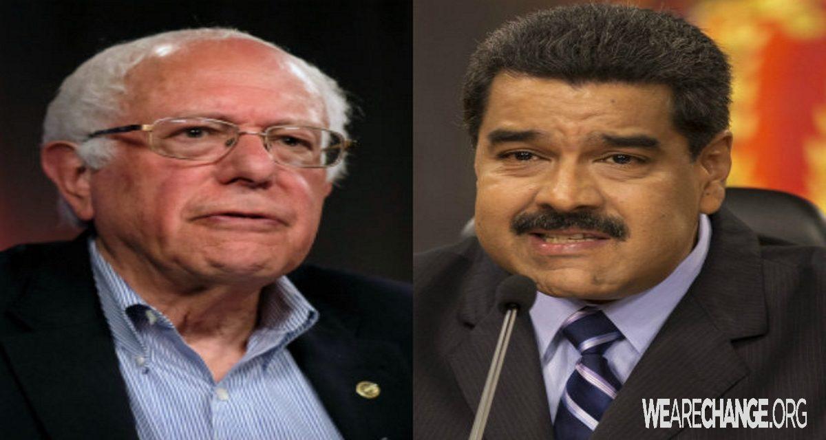Venezuela's President Supports Bernie Sanders