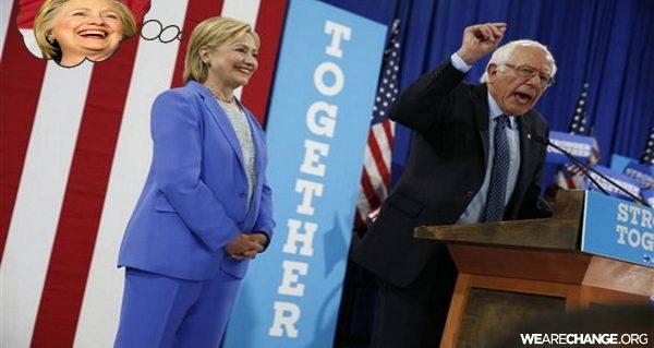 Bernie Sanders Backstabed DNC