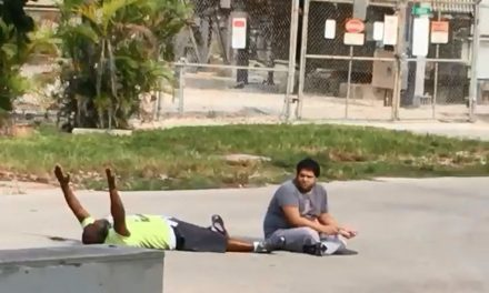 BREAKING: Video Moments Before North Miami Police Shot An Unarmed Man