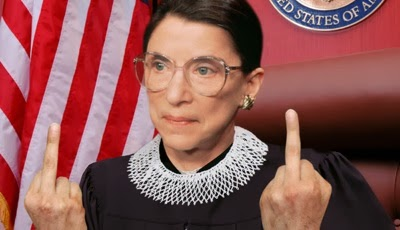UNPRECEDENTED: Supreme Court Judge Ruth Bader Ginsberg Breaks Cardinal Rule of Conduct