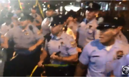 Protestors Break Into DNC and Police Push Them Back