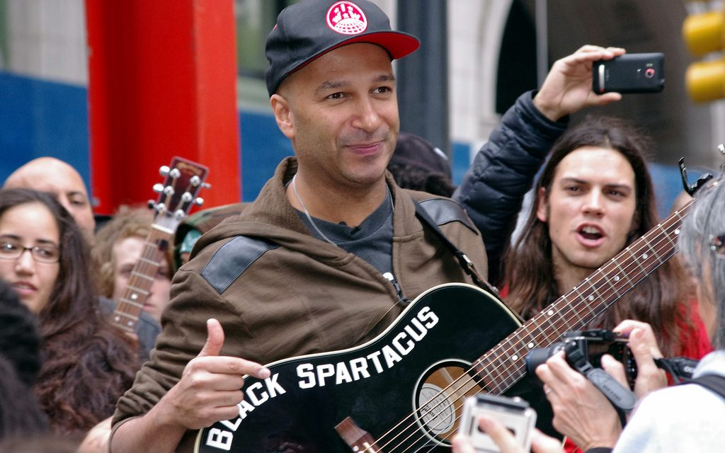 Tom Morello Speaks Out Against The RNC and Hillary Clinton
