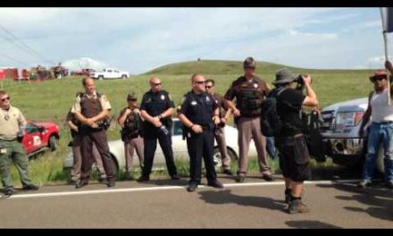 Native American Protesters Halt Construction On Dakota Access Pipeline