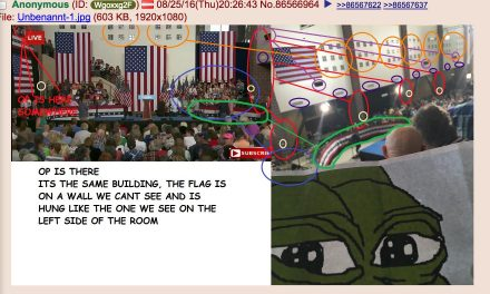 4Chan Poster Gloriously Interrupts Clinton Alt-Right Speech
