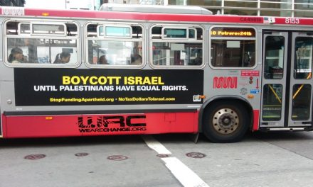 Buses In San Francisco Now Say: 'Boycott Israel Until Palestinians Have Equal Rights'