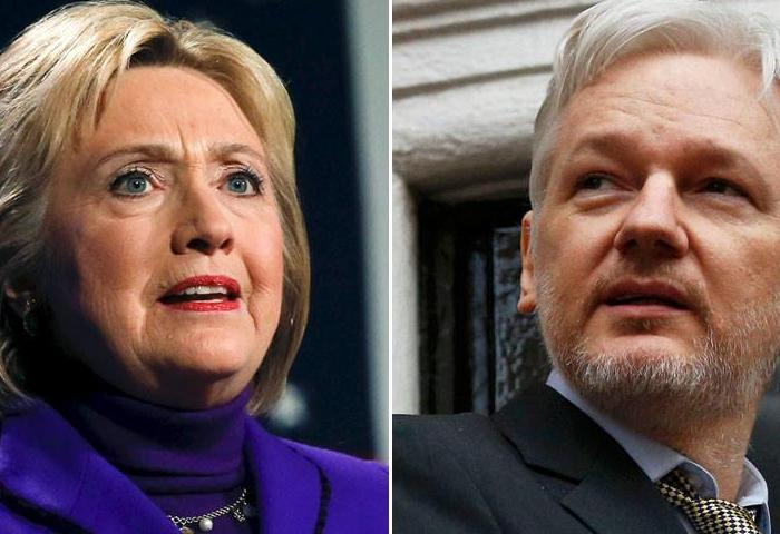 Wikileaks Founder Warns Liberal Media: You Will Face 'Demon' Clinton's Wrath Next