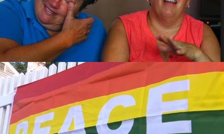 Home of Lesbian Couple Vandalized, Neighborhood Turns the Hate Into Love