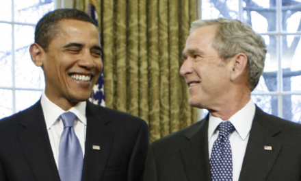 Too Little, Too Late: Bush/Obama In Louisiana