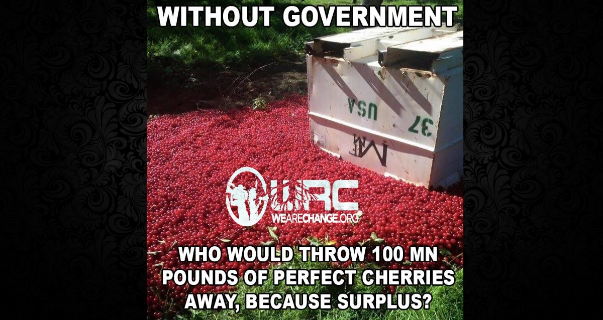 Farmer Forced To Throw Out Insane Amount Of Gorgeous Cherries
