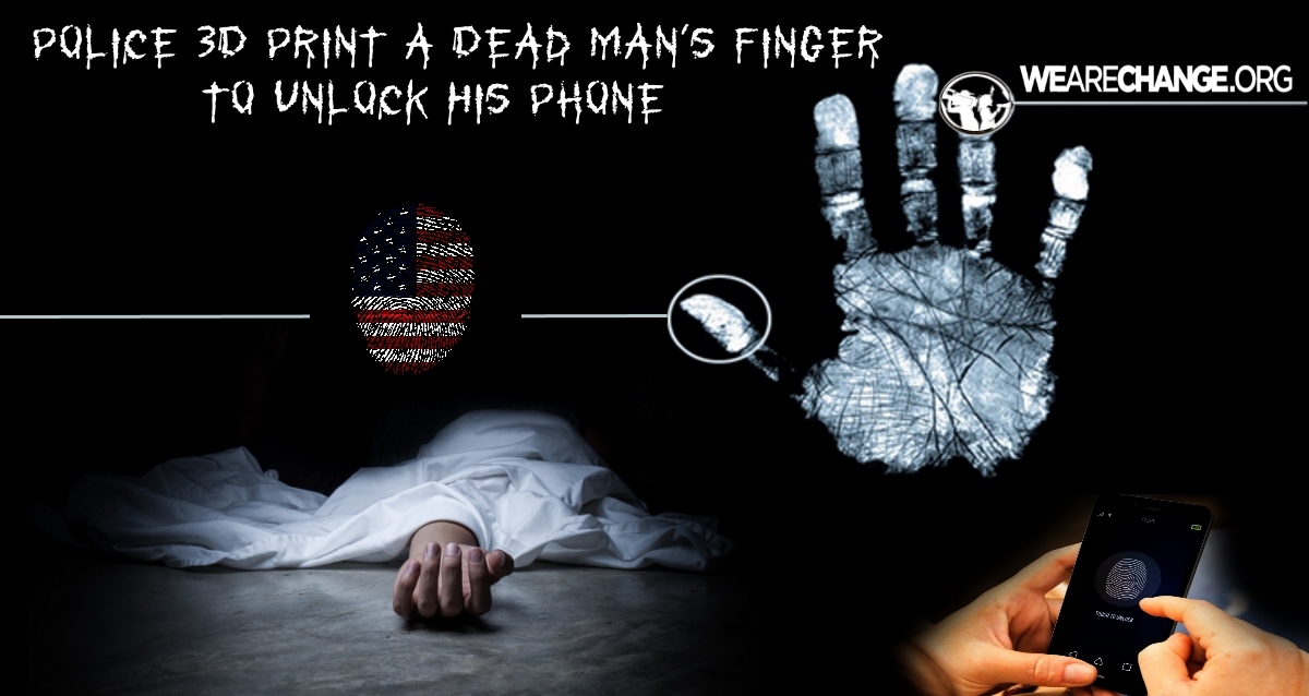 Police 3D Print Dead Man's Finger to Unlock His Phone
