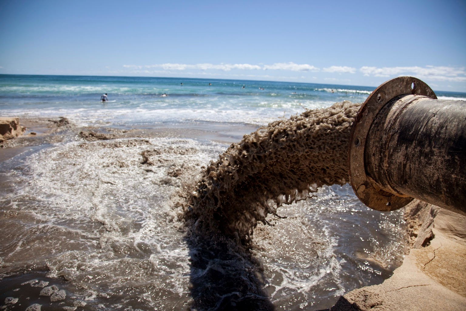 Billions of gallons of waste is being dumped into the gulf for We are water