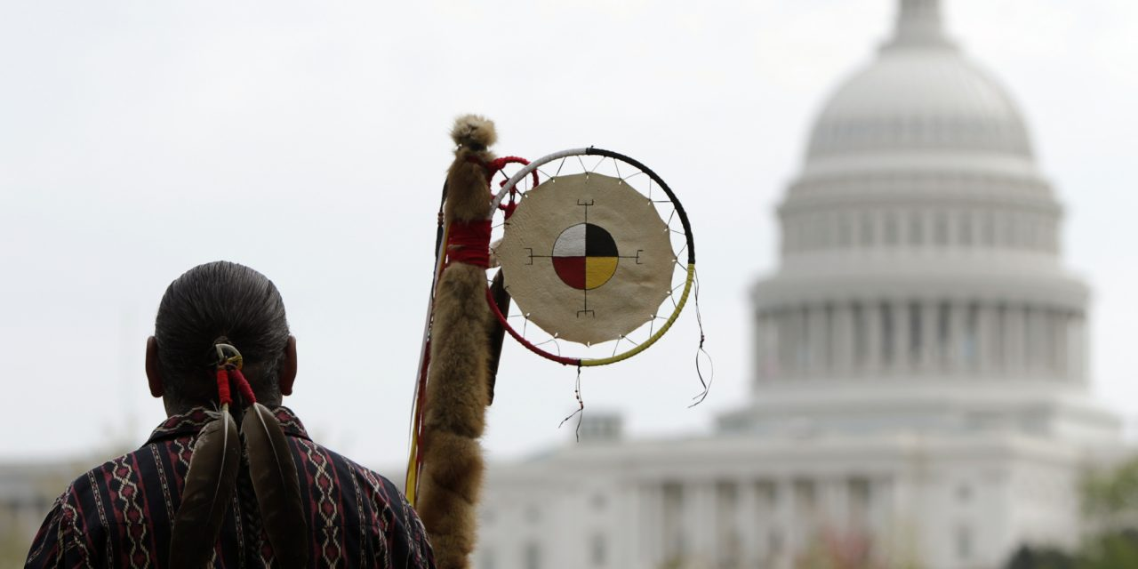 Native American Protesters Banned From Protesting On Their Own Land