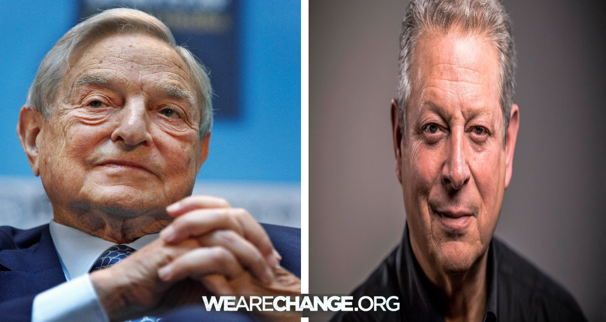 George Soros Paid Al Gore Millions To Lie About Global Warming