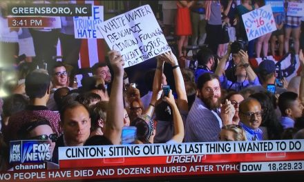 "Protester Screams ""F*CK HILLARY"" on Live TV During Clinton Rally"
