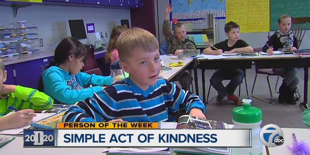 8-year-old notices friend was denied lunch due to lack of money, buys lunch for 295 kids
