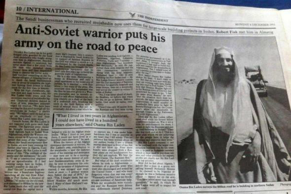 Anti-soviet Osaman Bin Laden