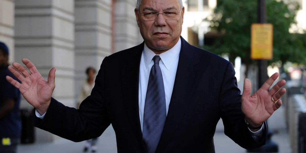 HACKED: Former Secretary of State Colin Powell Slammed Hillary Clinton and Donald Trump