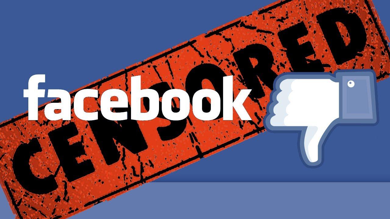 Risultati immagini per facebook censored