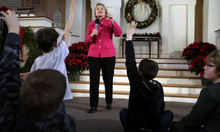 NO PRESS CONFERENCE, BUT HILLARY LETS KIDS ASK HER QUESTIONS FOR $2,700 FEE