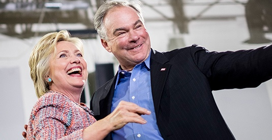 Tim Kaine Cheers On Son After His Arrest For Anti-Trump Rioting