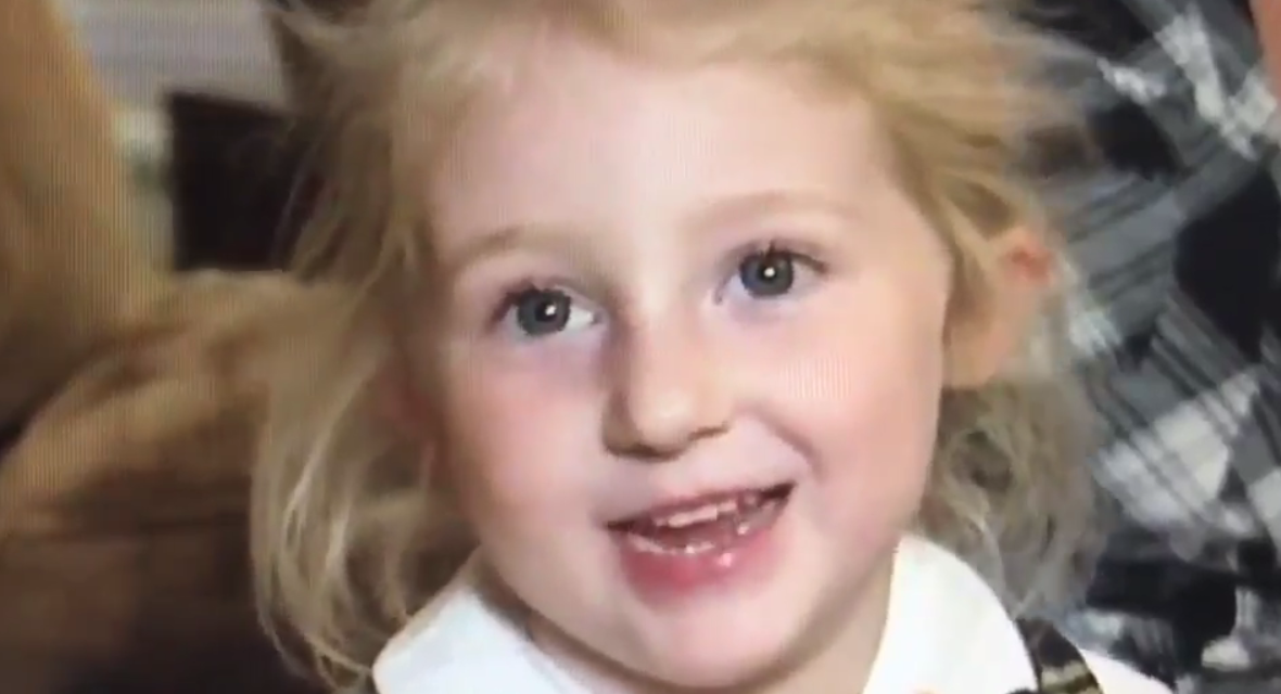 The Most 'Adorable Deplorable:' Six-Year-Old Trump Fan Says Hillary 'is Bad' and 'Steals'