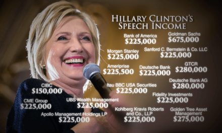 Shocking Portions of Clinton's Goldman Sachs Speeches Released by Wikileaks