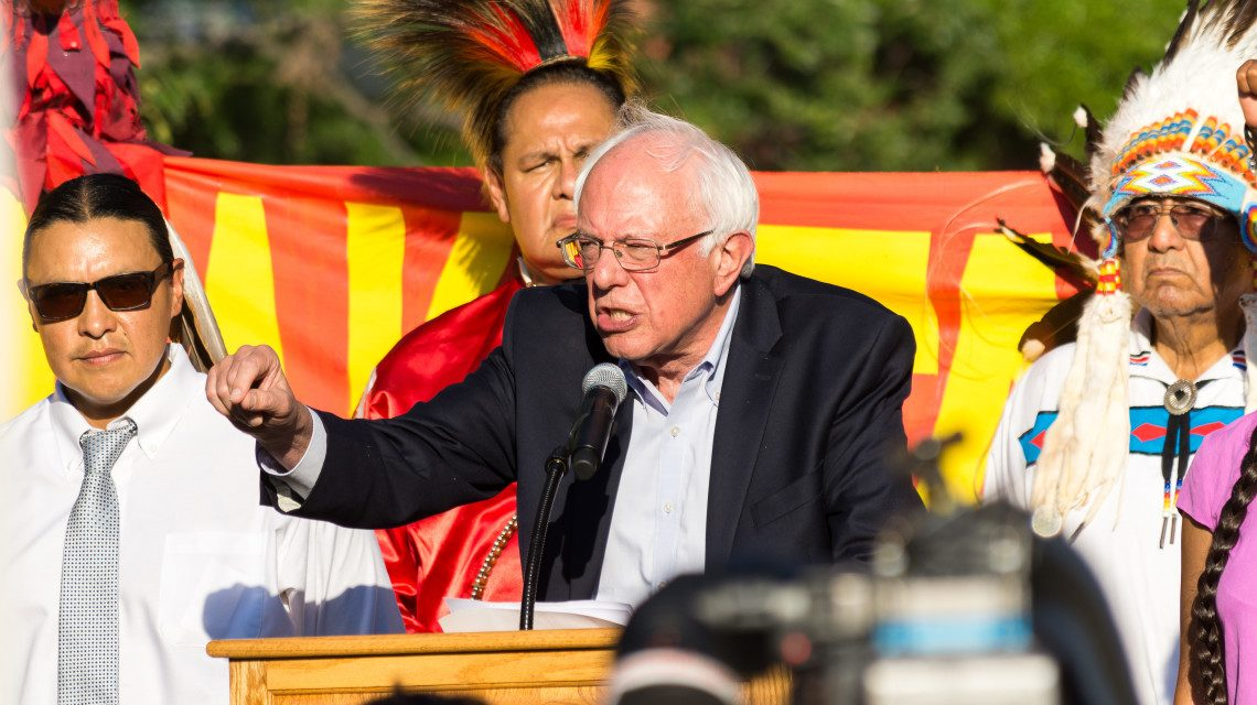 Bernie Sanders Wrote an Open Letter Calling on President Obama to Stop the Dakota Pipeline