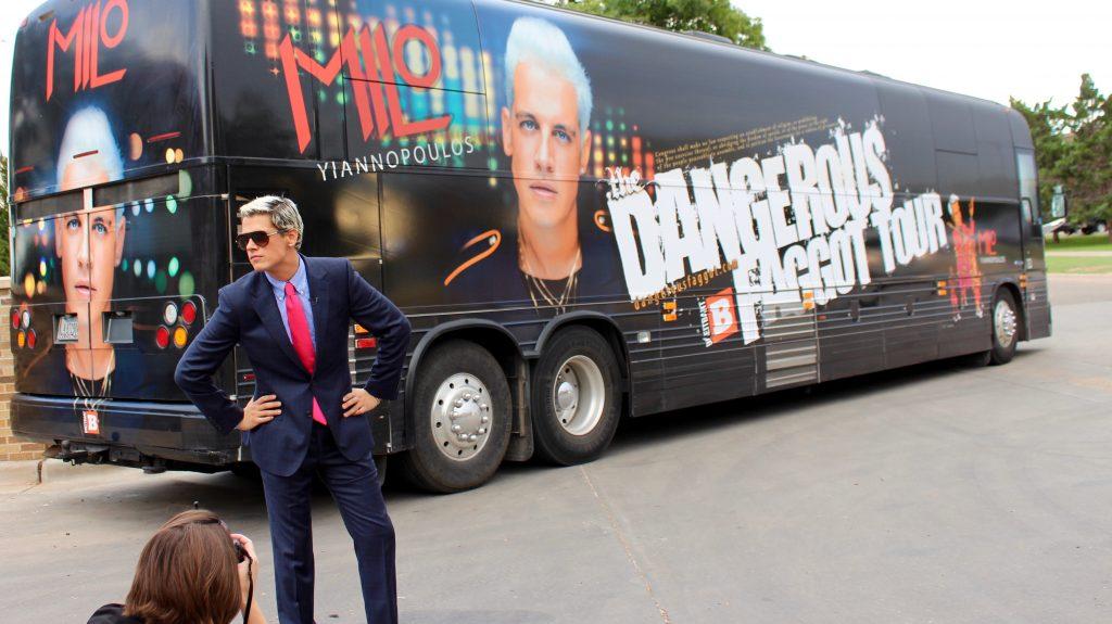 Milo Yiannopoulos Tour Bus