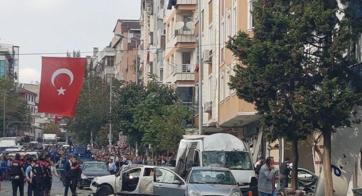 #BREAKING: Ten Injured In Blast In Istanbul, Turkey Near Police Station