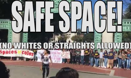 "Students at the University of California, Berkeley held a protest on Friday to demand the creation of additional ""safe spaces"""