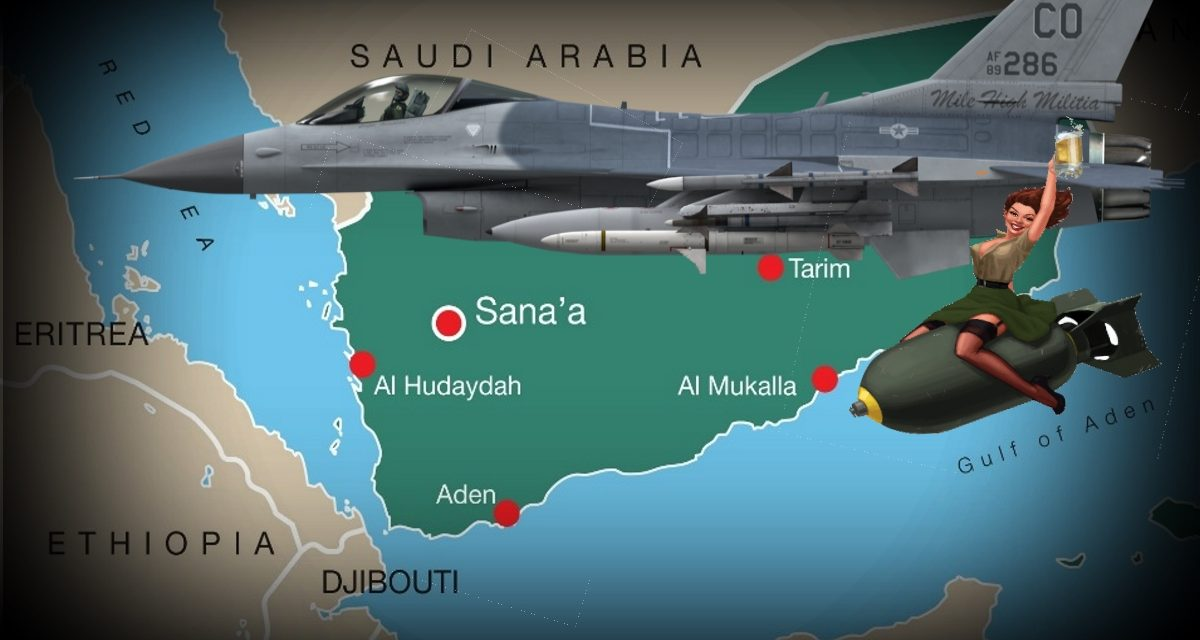 DOD Bombs Yemen Then Admits They're Still Not Sure Who Fired Rockets.