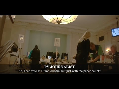 Project Veritas Undercover Journalist in Full Burka Is Offered Huma Abedin's Ballot