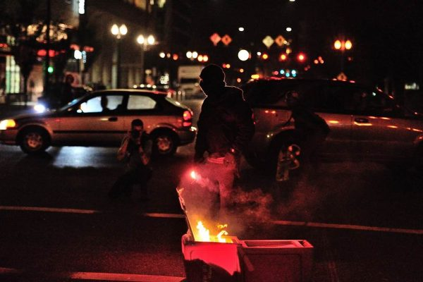 Portland Riot, photo by Alex Milan Tracy