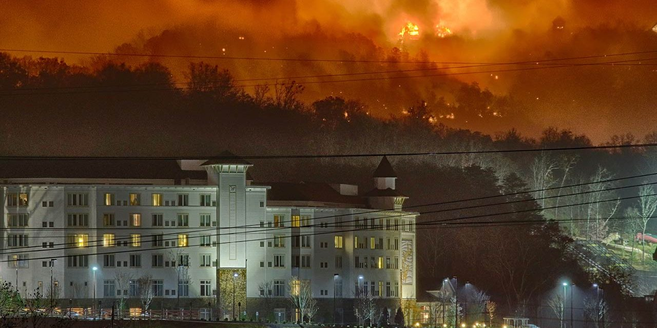 Fatal Fires Swept Through This Smokey Mountain Town Monday Night