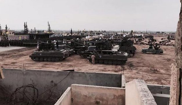 Hezbollah Terrorists Spotted Using U.S. Military Vehicles