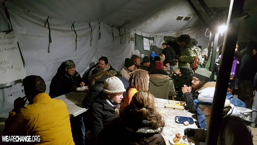 Agoras in Action: Feeding the Front Lines of Standing Rock