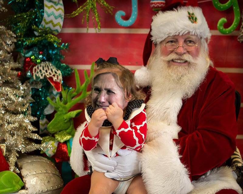 Bad Santa Fired For Putting Hillary On The Naughty List