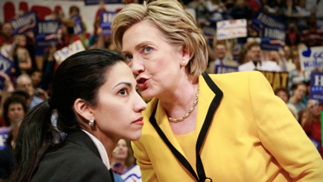 "FBI Rebels! Huma Abedin ""Insurance File"" Found On Seized Laptop With 10,000 NEW EMAILS"