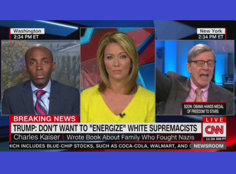 White CNN Contributor Uses N-Word While Live With Black Trump Supporter