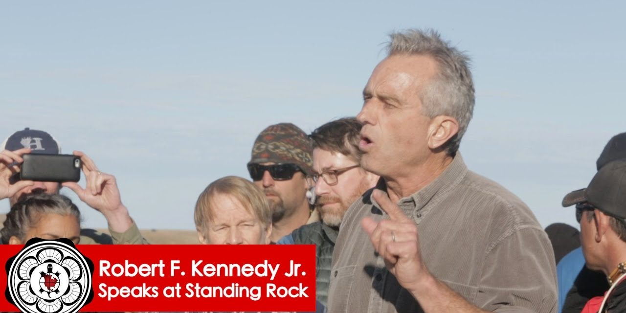 "Robert Kennedy Jr, ""Trump Has A $2 Million Stake In The Illegal Dakota Pipeline"""