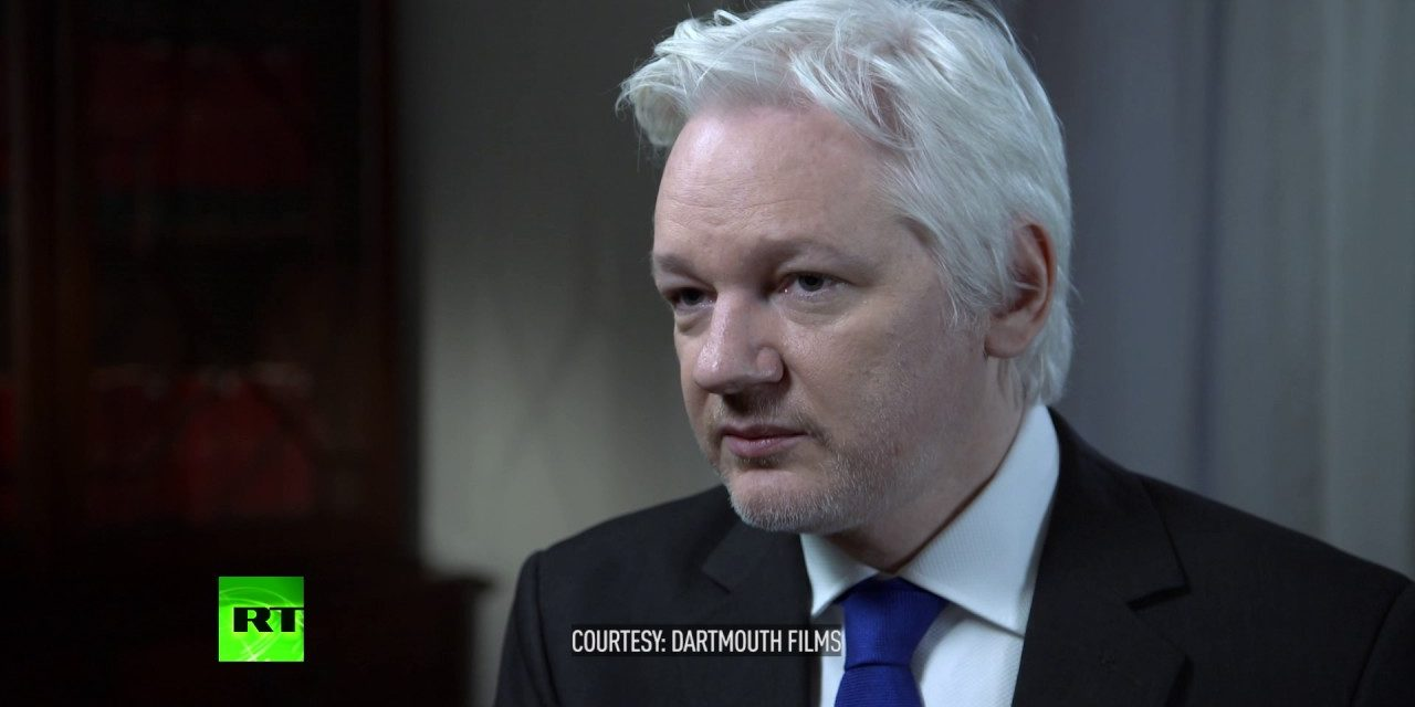 "Julian Assange Says Trump Won't Be Allowed To Win, ""Clinton And ISIS Are Funded By The Same Money"""
