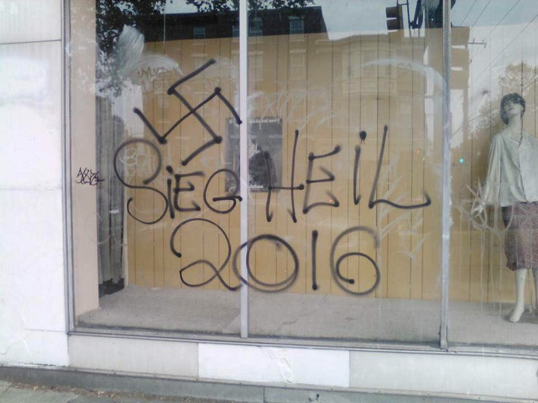 Multiple Reports of Racist Trump Graffiti in South Philly