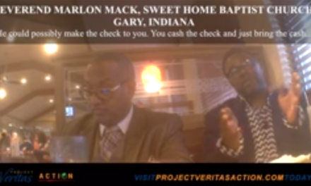 "Holy Voter Fraud: Reverends Caught on Cam, ""We Tell Them Who To Vote For"""