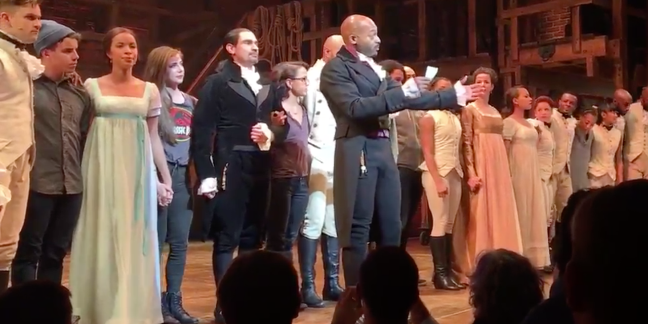 Trump Calls For Hamilton Crew to Apologize For Harassing Pence