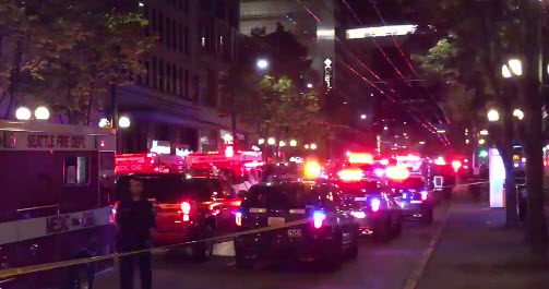 #BREAKING: Seattle Shooting Five Shot One Critical NOT Related Trump Protest