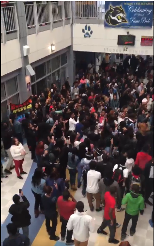 #BREAKING: Students At Wise High School MD Attempt Walk Out Locked Inside