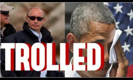 Russia's Putin Epically Trolls Barack Obama, Hillary Clinton & Democratic Establishment