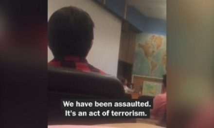California Professor Tells Class That Trump's Victory Was an 'Act of Terrorism' (VIDEO)