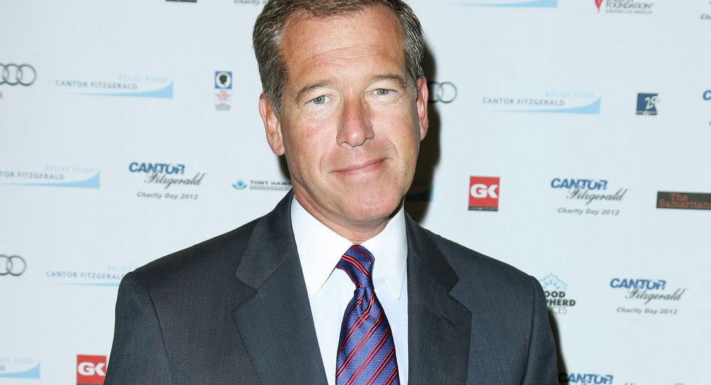 Disgraced MSNBC Anchor Brian Williams Comes Out Against Fake News